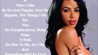 Aaliyah - I Gotcha' Back (Lyrics)