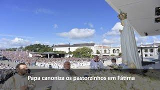 Resumo da missa de canonização dos pastorinhos Jacinta e Francisco