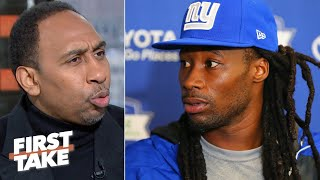 Stephen A. reacts to the Giants cutting Janoris Jenkins | First Take
