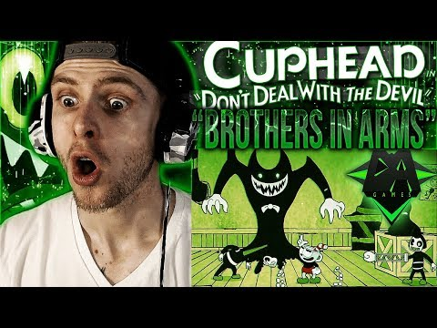 Vapor Reacts #582 | NEW CUPHEAD CROSSOVER SONG LYRIC VIDEO