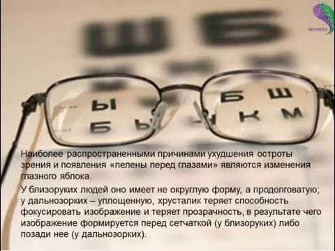 Лекция профессора жданова в.г. восстановление зрения