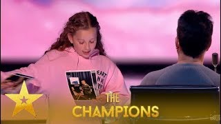 Issy Simspon: The Little Girl Magician Is BACK! Simon WOWED! | Britain's Got Talent: Champions
