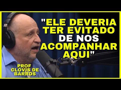 CLVIS DE BARROS IMPRESSIONA COM RESPOSTA CLVIS BARROS FILHO   Cortes Podcast - Os Melhores!