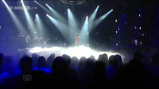 Nadine Beiler   The Secret is Love LIVE HD 720p   Eurovision Songcontest 2011 Austria