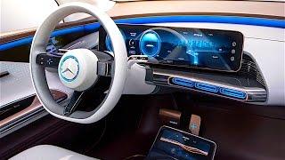 Mercedes EQ INTERIOR IN DETAIL 2017 New Mercedes Electric Car INTERIOR Concept Paris 2016 CARJAM TV