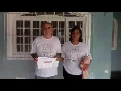 Jesuel e Evandri, em vídeo divulgado pela família, contando a luta