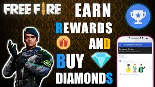 How to Earn Money from Google Opinion Rewards & buy Diamonds (UPGRADE) to Elite Pass🔥