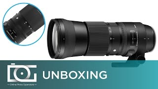UNBOXING REVIEW | SIGMA 150-600mm F5-6.3 DG Contemporary Camera Lens (Video)