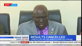 KCSE results of 1,205 candidates cancelled over exam irregularities