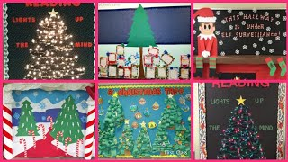 Christmas Bulletin Board Decorations Ideas || Christmas Display Board ||