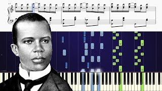 How to play The Entertainer by Scott Joplin on piano
