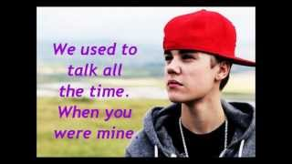 Justin Bieber   Tell Me Lyrics.