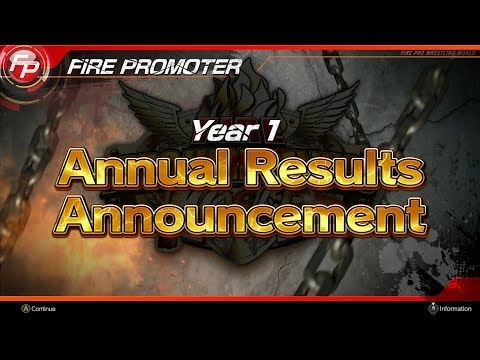nL Live - One Year in Fire Promoter Mode! [Fire Pro Wrestling World]