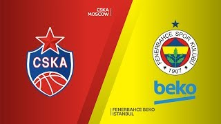 CSKA Moscow - Fenerbahce Beko Istanbul Highlights | Turkish Airlines EuroLeague RS Round 28