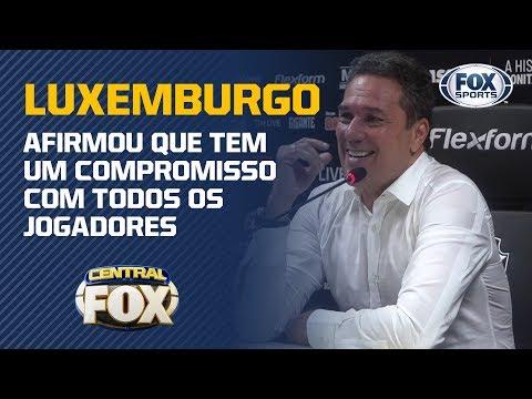Luxemburgo fala sobre futuro no Vasco e revela compromisso com seus jogadores