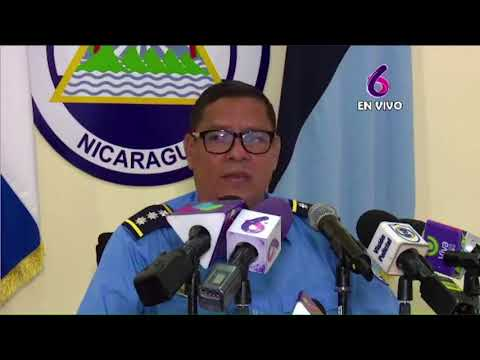 Policía Nacional presenta a terroristas que mataron y quemaron al compañero Francisco Aráuz Pineda