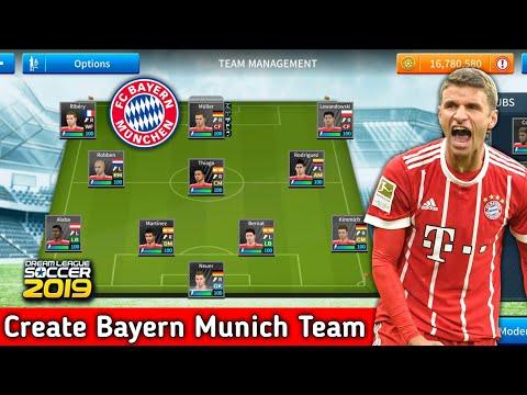 How To Create Bayern Munich Team In Dream League Soccer 2019