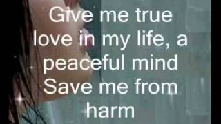 A Prayer - Anggun (with lyrics)