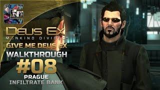 Deus Ex: Mankind Divided - Ghost Walkthrough / Part 8 - Infiltrate Bank