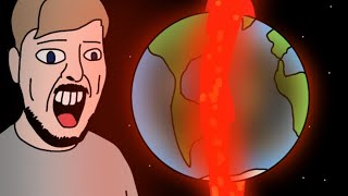 Destroying The Earth And Bought A New One! / MrBeast in 2050 (animation parody)