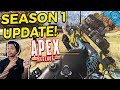 New Apex Legends Balance Update! Wingman And Peacekeeper Nerf! Caustic, Pathfinder Buff And More!
