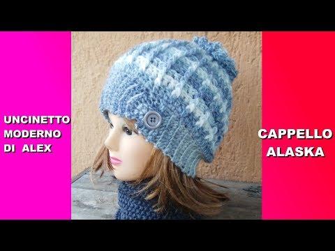 Cappello Fiocco Di Neve Alluncinetto By Oana Oana Oros Bonacorsi