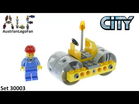 Vidéo LEGO City 30003 : Road Roller