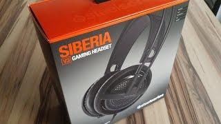 Das Steelseries Siberia V3 Headset - Review ( German HD )