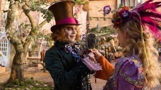 Алиса в Зазеркалье (Новый Трейлер 2016 HD) Джонни Депп, Миа Васиковска