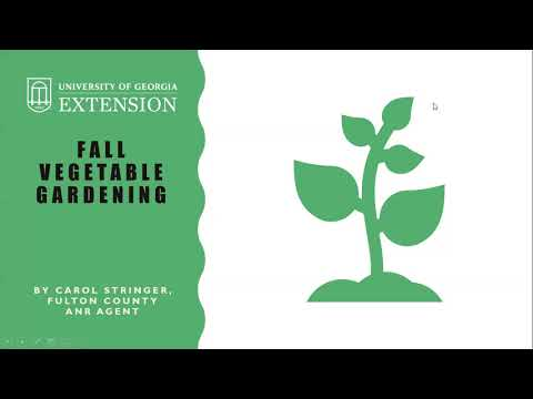 , title : 'Fall Vegetable Gardening