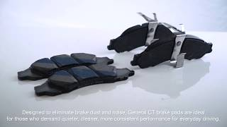 Best Brake Pads- General CT Brake Pads!