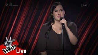Μαρίνα Δρεσίου - Μαμά γερνάω | 1o Live | The Voice of Greece