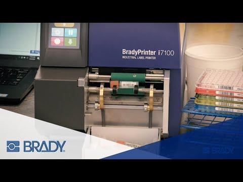 BradyPrinter i7100 Vial Label Applicator