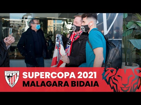 📽️ Athletic's journey to Málaga I Supercopa 2021
