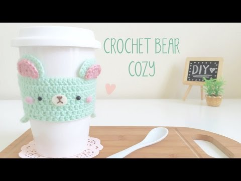 (DMC Knitting/Crochet) DIY Crochet Mint Bear Cozy