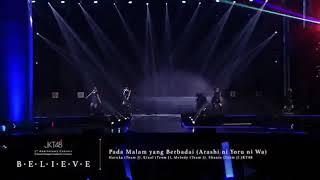 JKT48 - Arashi no Yoru ni wa (Pada Malam yang Berbadai) melody , shania, kinal, haruka