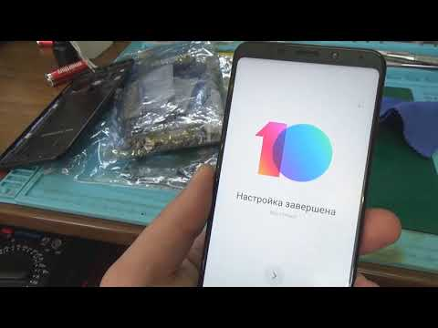 Сброс Mi Account на Xiaomi Redmi 5 Plus при помощи UMT Dongle и WODM TOOL Unlock Mi Account