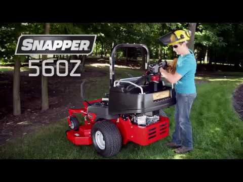 2019 Snapper 560Z Series 24/61 Optional Cargo Bed Zero Turn Mower in Gonzales, Louisiana - Video 1