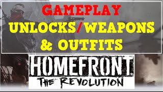 Homefront: The Revolution / All Weapons, Skills, Clothing / Beta Gameplay