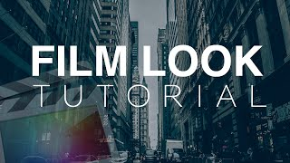 Film Look Tutorial - Final Cut Pro X