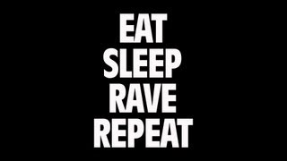 Fatboy Slim & Riva Starr Ft. Beardyman - Eat, Sleep, Rave, Repeat (Lyric Video)