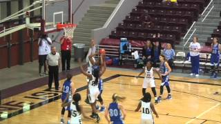 2015-16 GBBall - Rudder Lady Rangers vs Barbers Hill Lady Eagles - 2/26/16