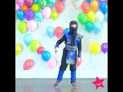 Ninja verkleedkleding kind