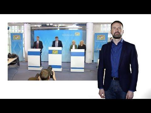 Pressekonferenz der Bayerischen Staatsregierung vom 13.03.2020 – in Deutscher Gebärdensprache