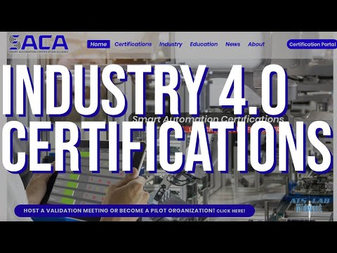 Smart Automation Certification Alliance (SACA) Industry 4.0 ...