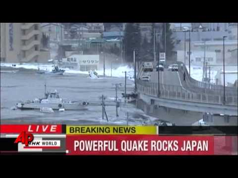 Tsunami Warning After Brutal Japanese Earthquake Hit Today