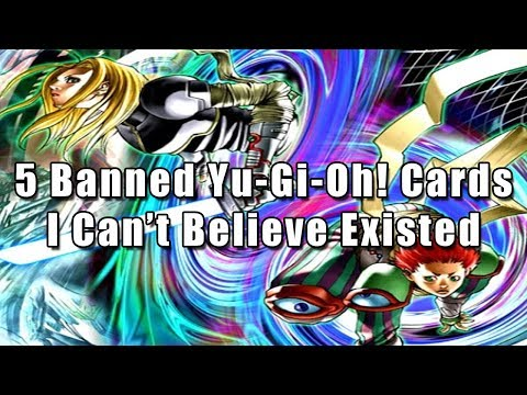 5 Banned Yu-Gi-Oh! Cards I Can't Believe Existed