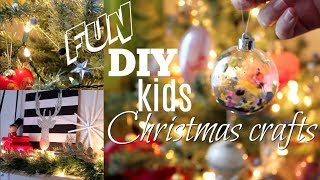 DIY Kids Christmas Crafts