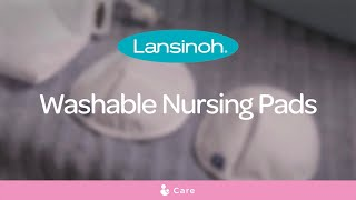 How to use Lansinoh Washable, Reusable Nursing Breast Pads?