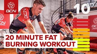 20 Minute Fat Burning Workout | High Intensity Interval Training